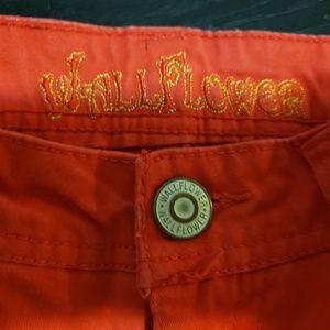 Wallflower Shorts - Red Jean shorts by wallflower